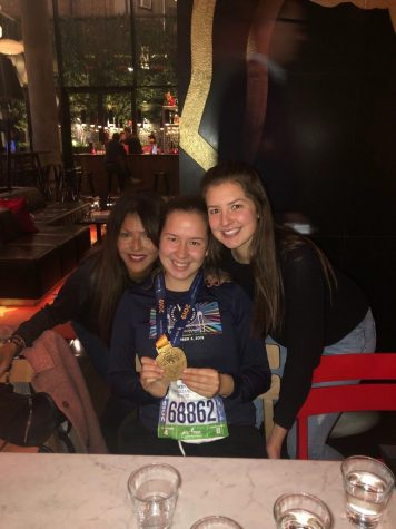 Fordham Student Finishes 2019 New York Marathon