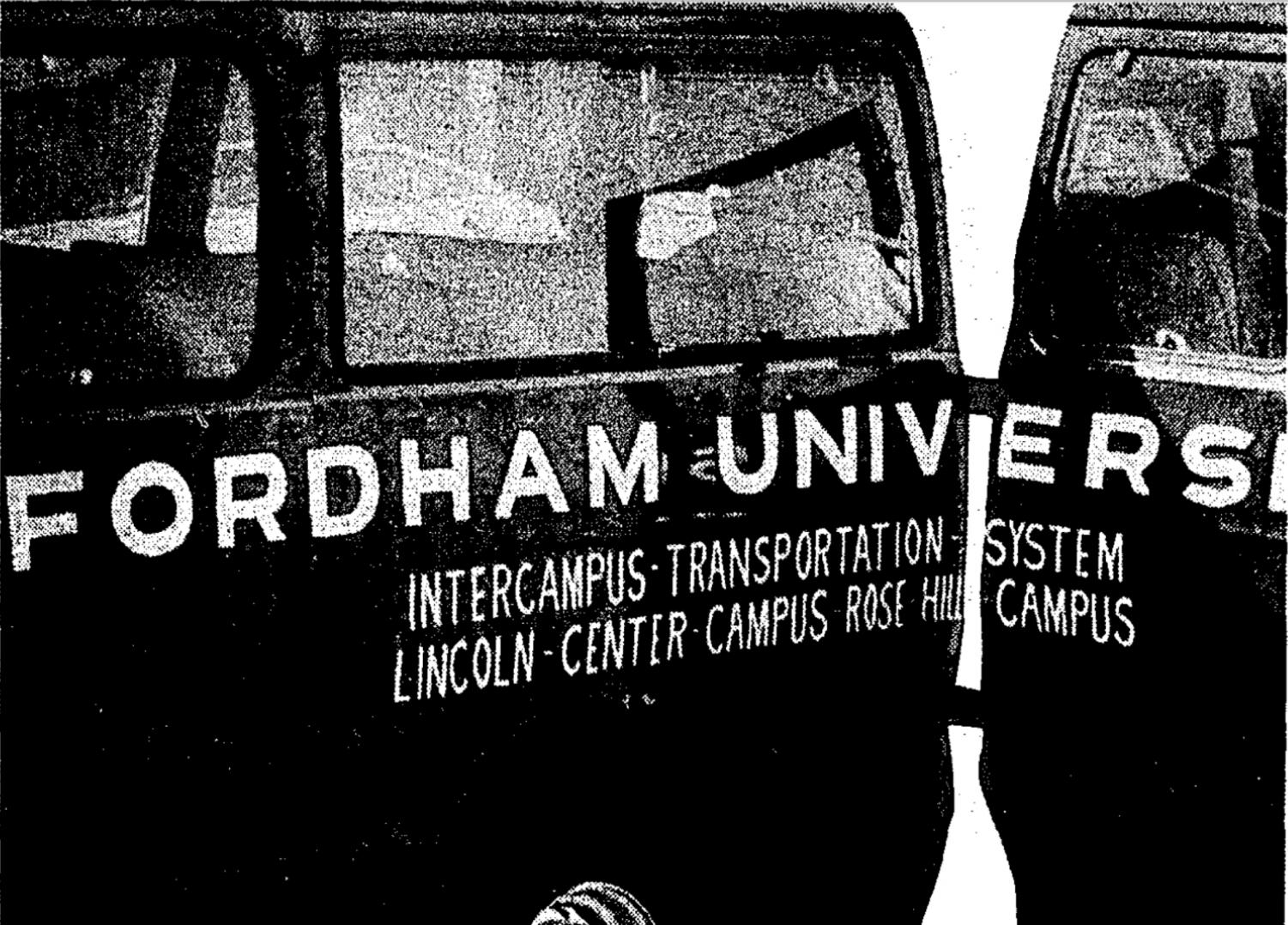 The Ram Van has evolved alongside the Lincoln Center campus; what started as an experiment has now turned into a pillar of student life.