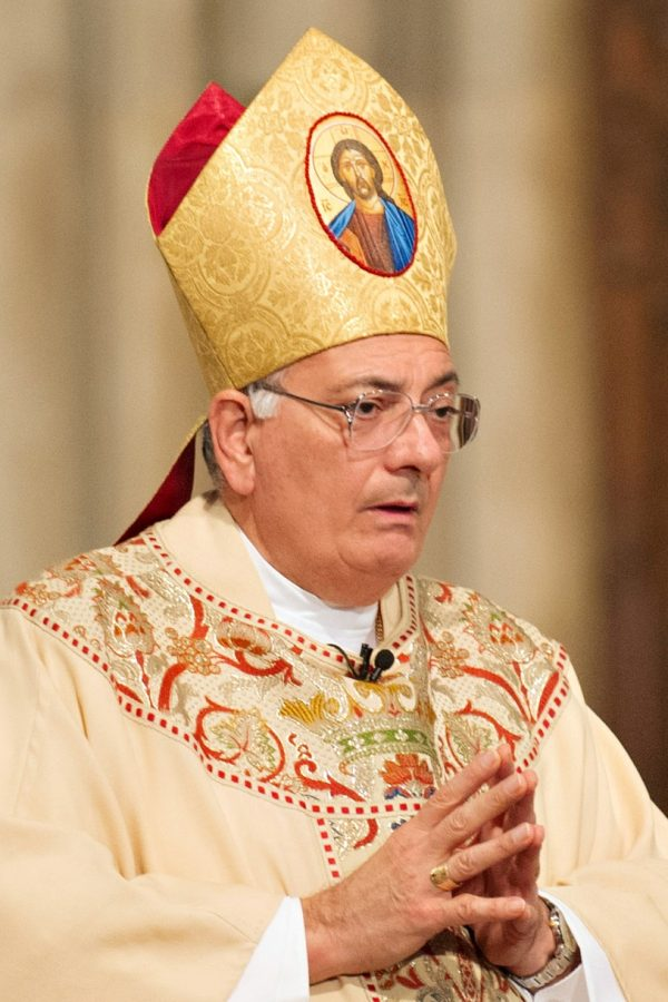 Bishop DiMarzio, who collaborated with Fordham to create the CSAA in 2012. has been accused of sexually assaulting a student in 1975.