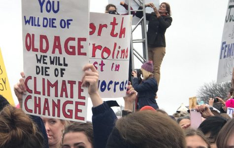 It's On Us: Jaded by the seeming ambivalence of the older generation, students feel the weight of the warming world on their shoulders.
