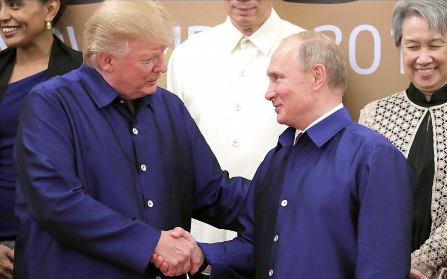 Putin's Middle Eastern agenda is seemingly aided and abetted by Trump — from top to bottom.
