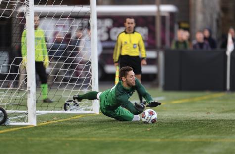 Men's Soccer Season Cut Short at Semifinals