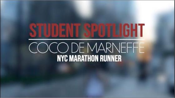 Student Spotlight: Coco de Marneffe