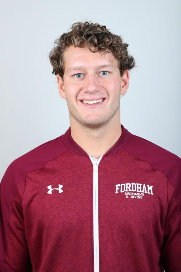 Connor Wright, FCRH '22, along with fellow teammates, helped save a man from drowning in Miami.