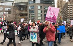 Demonstrators Chant 'Rise and Roar' at 2020 Women's March