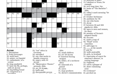 Crossword Issue 1: Under the Circumstances