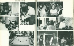 Shown in the 1981 Center Yearbook, The Pub served as the epicenter of the Lincoln Center social scene in the '80s.