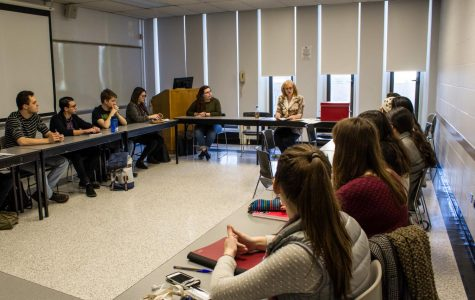 The English department's Creative Writing program promotes collaboration and self-expression.