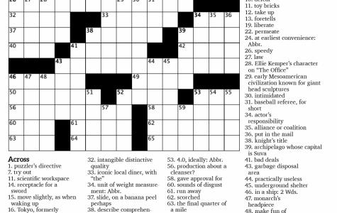 Crossword Issue 2: Dramatic Irony