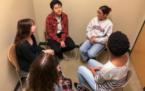 Students can now meet in small groups to share their experiences and get guidance from facilitators.