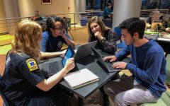 Trained EMT Lincoln Center students hope to offer expanded training sessions across Fordham's campuses.
