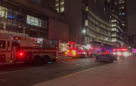When steam started to rise, FDNY trucks and Con Ed arrived on scene.