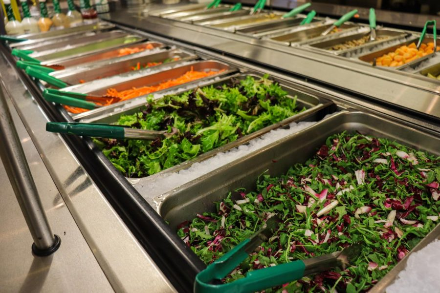The Fordham Dining Room offers a variety of nutritious food for students to peruse and consume every day.