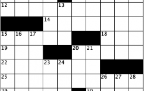 blank crossword grid, 10 by 10