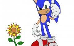 Watching 'Sonic the Hedgehog' on Valentine's Day