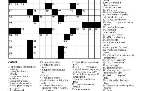 Crossword Issue 3: Suit Yourself