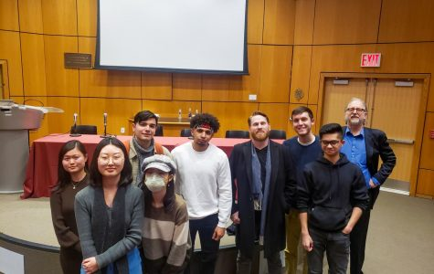 Many of the student filmmakers who participated in the festival attended the Story conference to receive their awards.
