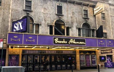 The Brooks AtkinsonTheatre closed due to coronavirus concerns