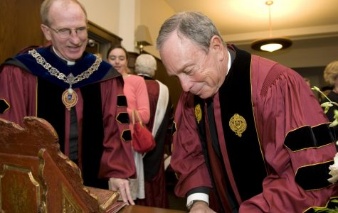 Uncovering Fordham's History With Bloomberg