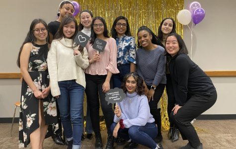 Students celebrate Fordham women who have inspired them at an annual luncheon at Fordham Lincoln Center for the first event of Women's Herstory Month.