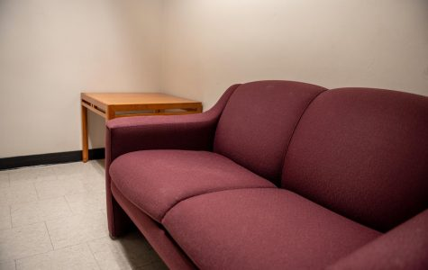The sofas provided in the women's bathroom in the Leon Lowenstein Center couch a history of misogyny.
