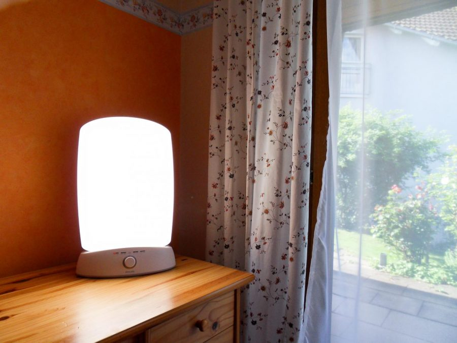 SAD lamps are used to treat seasonal affective disorder through a practice called light therapy.
