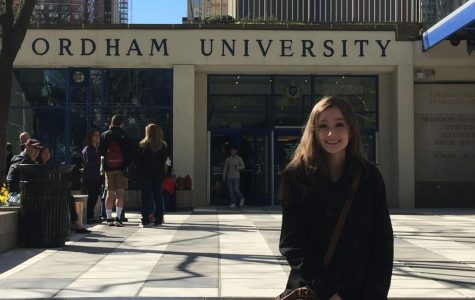 Courtney Brogle, FCLC '20, looks back on her freshman year and examines the countless memories that Fordham has gifted her.