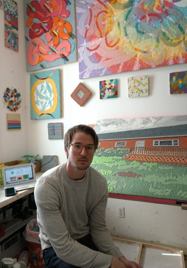 Benjamin Cook was inspired to create the gallery when he knew his own students at the Art Academy of Cincinnati would be deprived of a physical gallery to display their work.