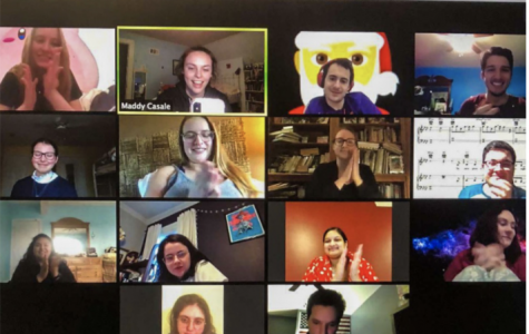Stove's Comedy Club at Lincoln Center is one of the student organizations that has transitioned to online meetings.