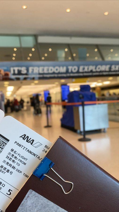Passport in Airport