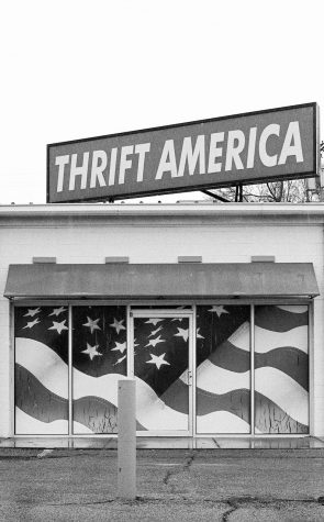 Thrift america store front