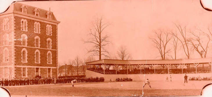 a+picture+of+Fordham%27s+baseball+team+playing+against+Yale+on+Eddies+in+1902