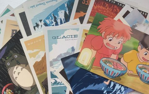 postcards with various designs