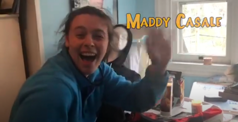 Maddy Casale, the club president