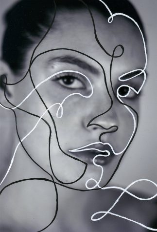 Schiavone's portrait of a woman with strokes