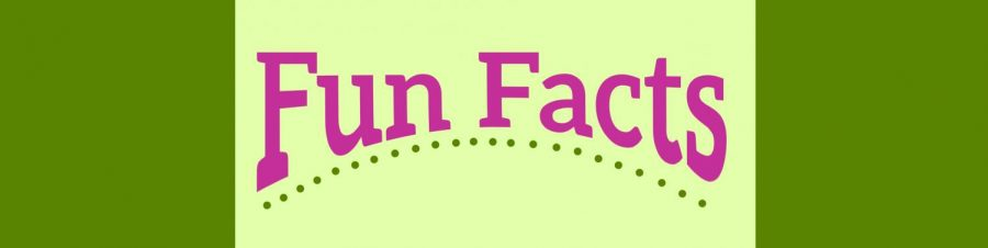"""fun facts"" in fancy lettering"