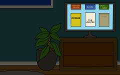 An illustration of a TV