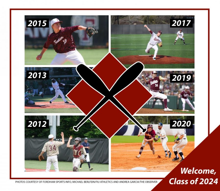 Fordham Baseball collage