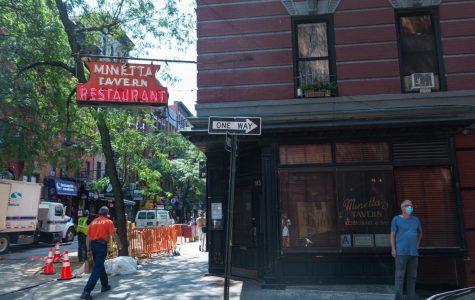 Photo of corner restaurant