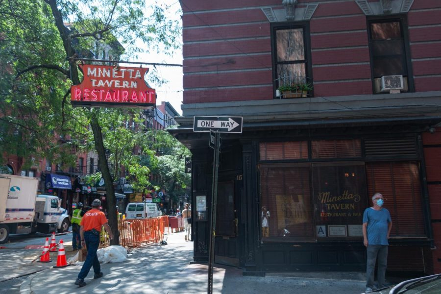 "Minetta Tavern is located on MacDougal Street, two blocks from Washington Square Park. ""Trust me, it'll be the best burger you will ever have,"" Bernabei writes of their Black Label Burger."