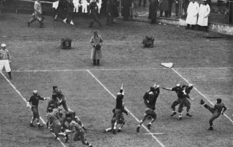 the blocked punt that resulted in Fordham scoring