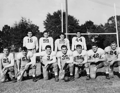 the Fordham Football team of the 1941-1942 school year