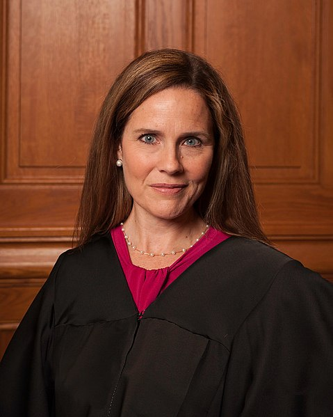 A portrait of Amy Coney Barrett