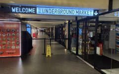 Picture of empty Turnstyle Underground Market