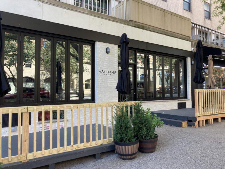 Massawa restaurant storefront