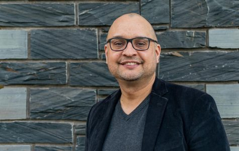 a portrait of chief diversity officer Rafael Zapata
