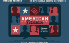 a poster for American Dreams reading
