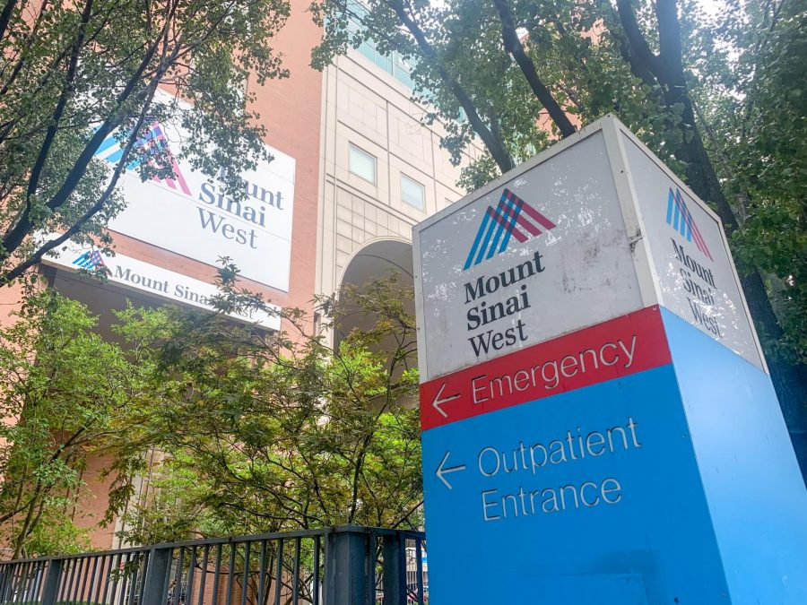 mount sinai hospital sign