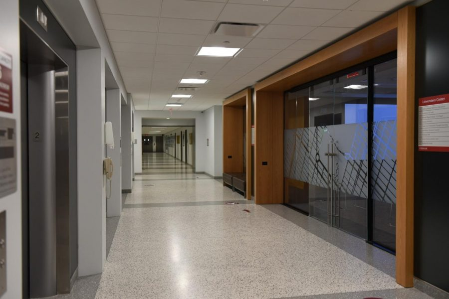 photo of an empty hallway
