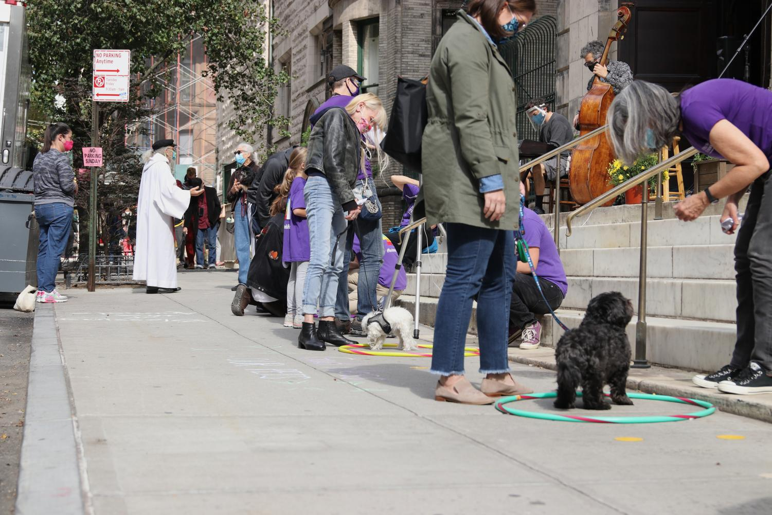 City+Pets+Congregate+for+Annual+Blessing+of+the+Animals